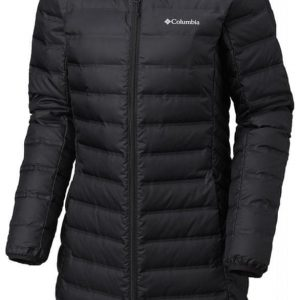 COLUMBIA płaszcz damski Lake 22 Long Hdd Jkt Black XS kolor true