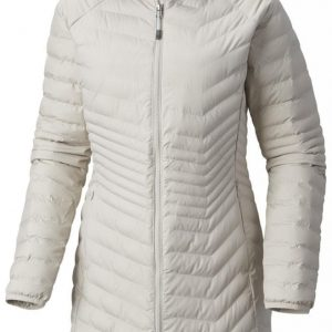 COLUMBIA Płaszcz damski Powder Lite Mid Jacket Light Cloud M kolor true