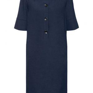 Sukienka koszulowa kolor niebieski