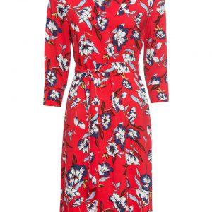 Sukienka koszulowa kolor czerwony