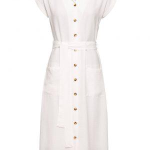 Sukienka koszulowa kolor biały