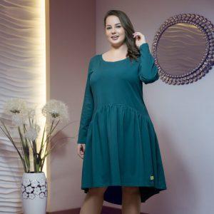 sukienka na zimę kolor