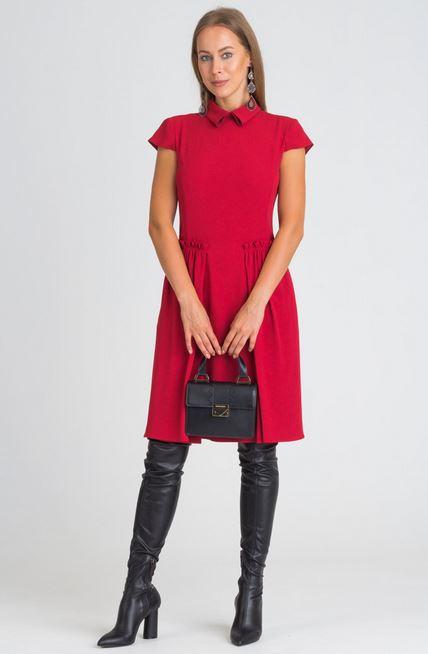 Czerwona sukienka EMPORIO ARMANI