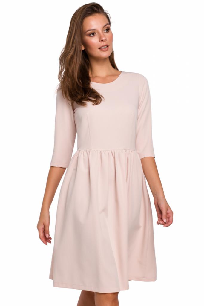 rozkloszowana sukienka midi lato