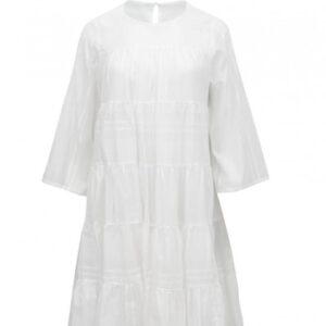 Bawełniana sukienka z rękawem 3/4 Devotion krótka.