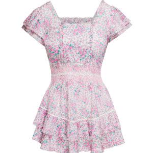 Sukienka LOVESHACKFANCY STANTON krótka.