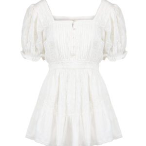 Sukienka LOVESHACKFANCY TOMASINA krótka.