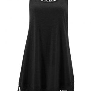 Sukienka plażowa z dżerseju bonprix czarny