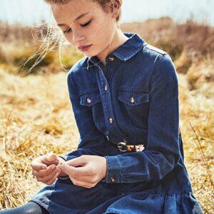 Mayoral - Sukienka jeansowa dziecięca